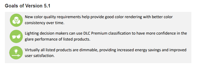DLC - Goals of Version 5.1