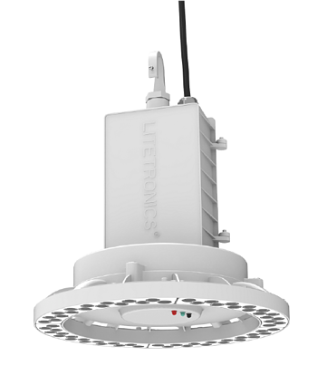 High-bay emergency LED